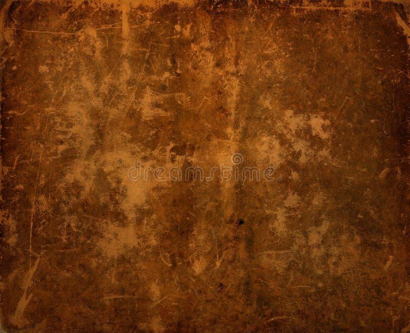 Fundo de couro velho antigo escuro imagens de stock