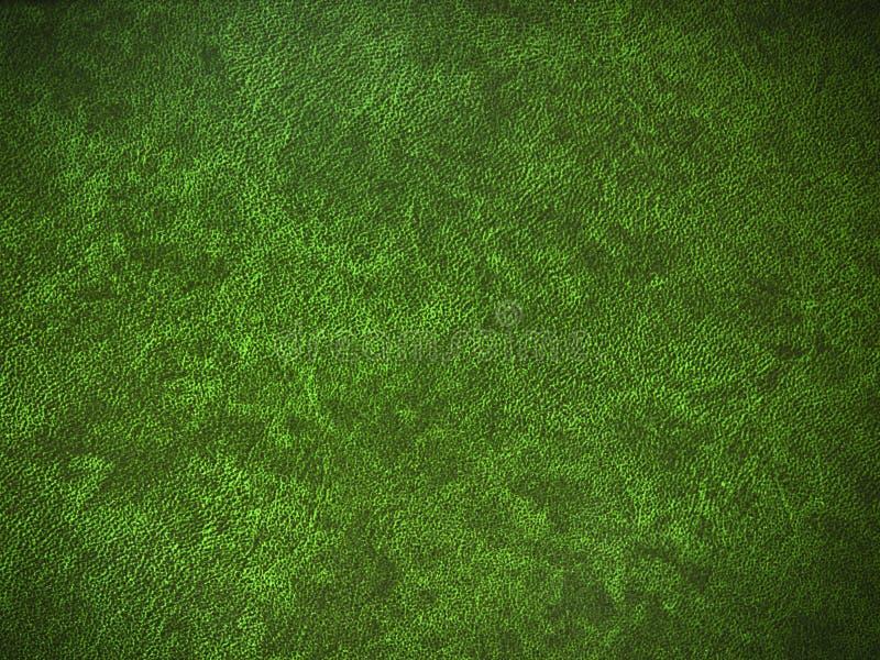 Fundo de couro verde fotografia de stock royalty free