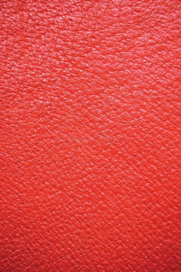 Fundo de couro vermelho, vertical imagem de stock royalty free