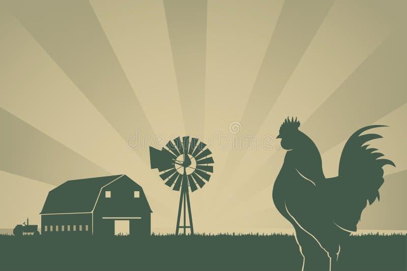 Fundo de cultivo americano