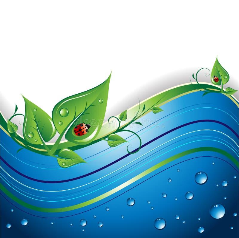 Fundo de Eco ilustração do vetor