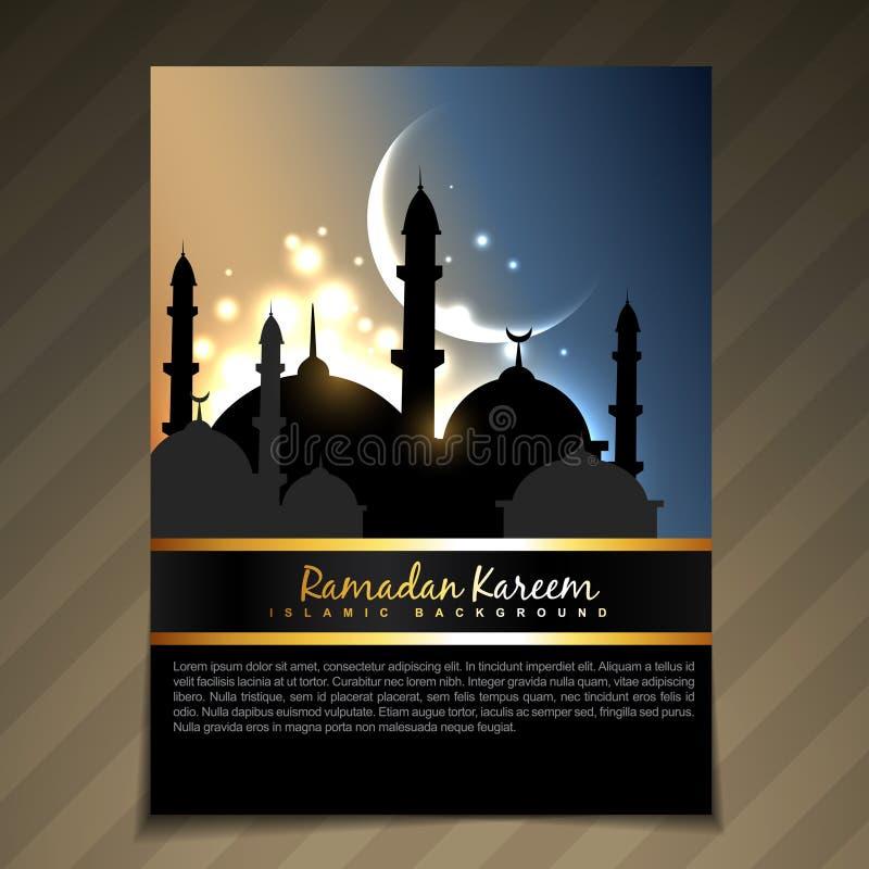 Fundo de Eid ilustração royalty free