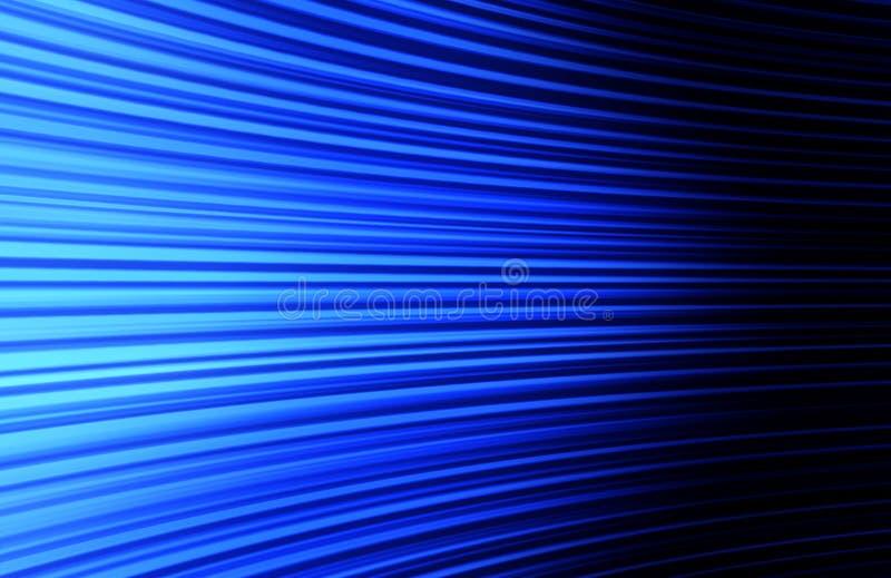 Fundo de encurvamento azul abstrato ilustração royalty free
