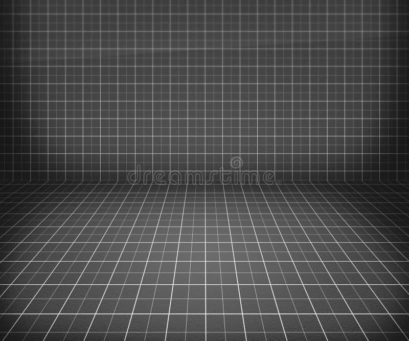 Fundo de estágio cinzento do modelo ilustração do vetor