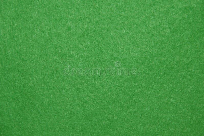 Fundo de feltro do verde. fotografia de stock
