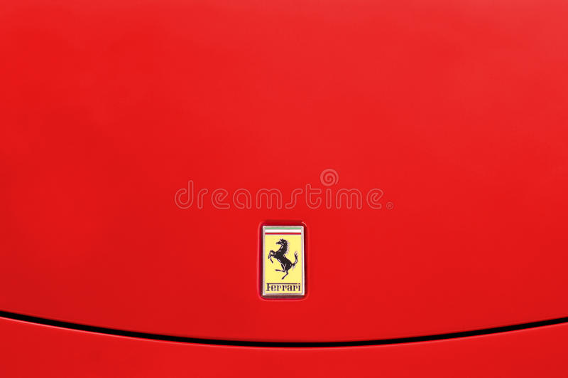 Fundo de Ferrari fotos de stock