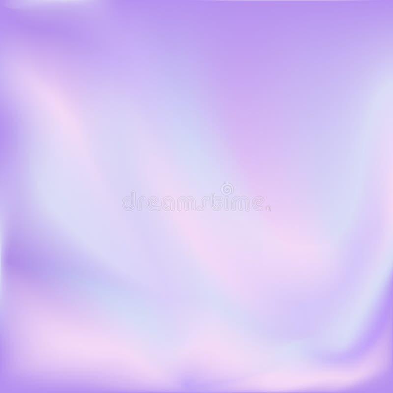 Fundo de fluxo abstrato do inclinação Ilustração borrada vetor ilustração do vetor