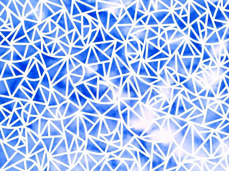 Fundo de formas geométricas ilustração stock