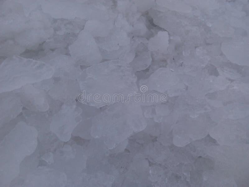 Fundo de gelo da armação de inverno foto de stock