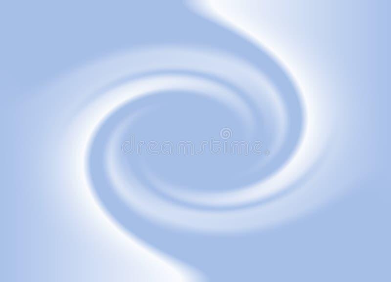 Fundo de giro azul macio ilustração do vetor