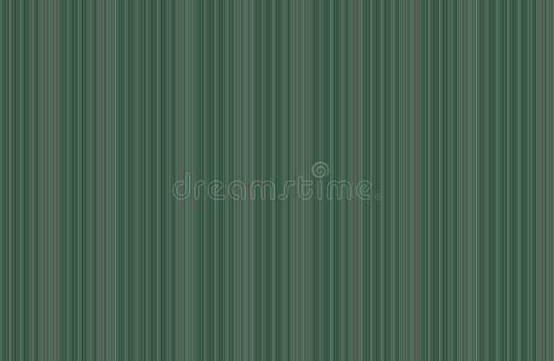 Fundo de Gray Green Thin Stripe Ribbed ilustração royalty free