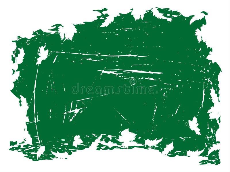 Fundo de Grunge com folhas ilustração stock