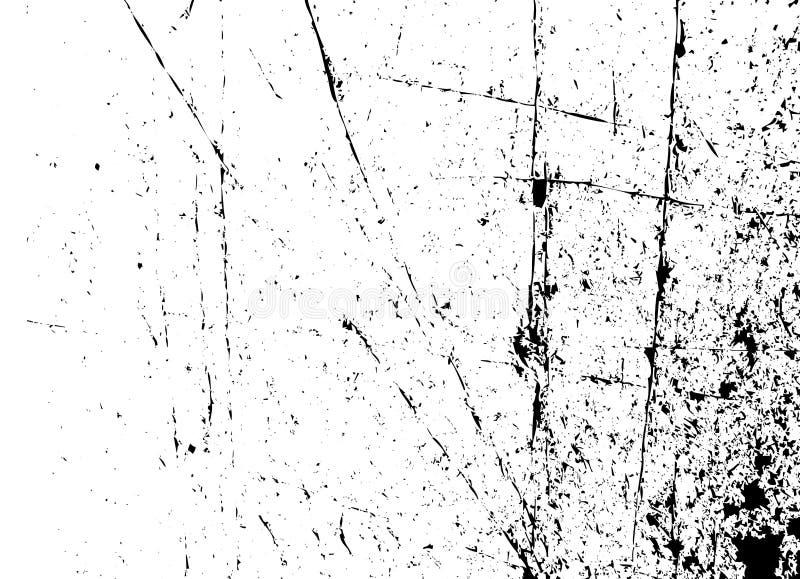 Fundo de Grunge preto e branco ilustração do vetor