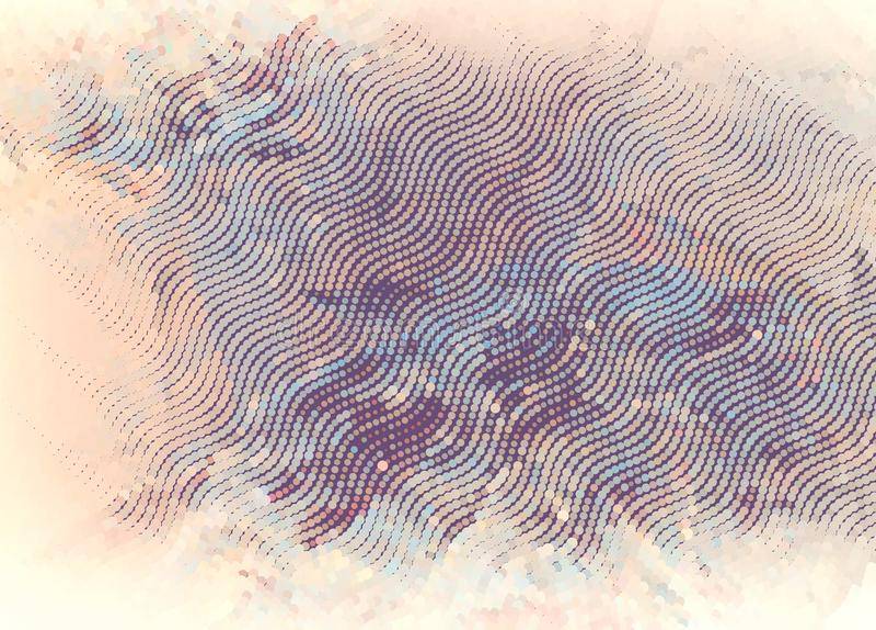 Fundo de intervalo mínimo abstrato ilustração do vetor