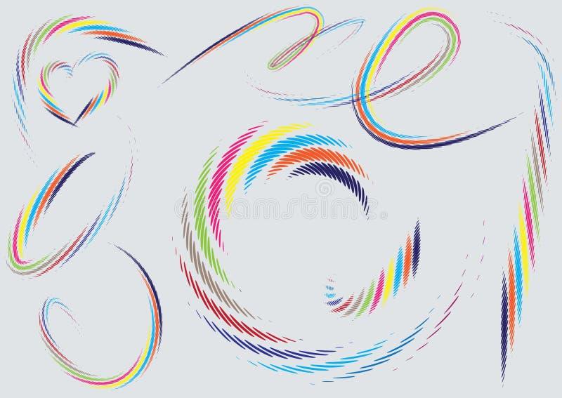 Fundo de intervalo mínimo abstrato da ilustração, ilustração do vetor