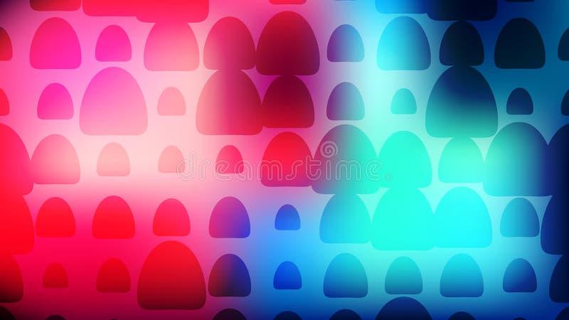 Fundo de intervalo mínimo colorido do arco Cartão abstrato moderno do inclinação ilustração royalty free