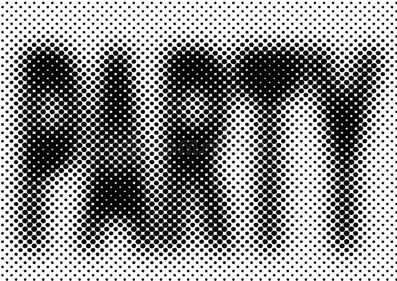 Fundo de intervalo mínimo do partido ilustração do vetor