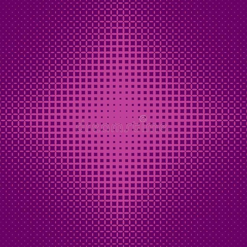 Fundo de intervalo mínimo simétrico geométrico do teste padrão de grade da elipse - vector o projeto ilustração royalty free