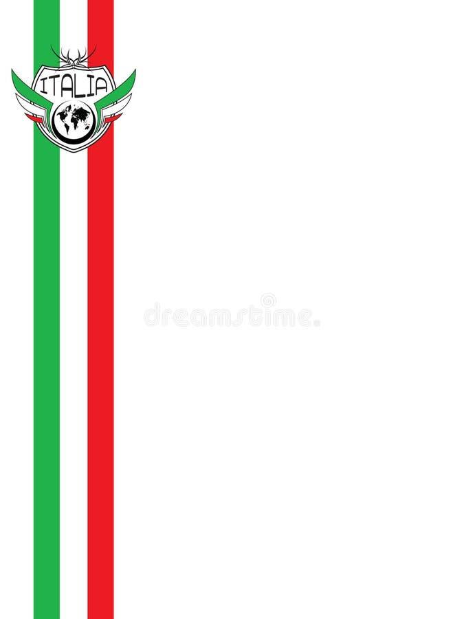 Fundo de Italia ilustração do vetor