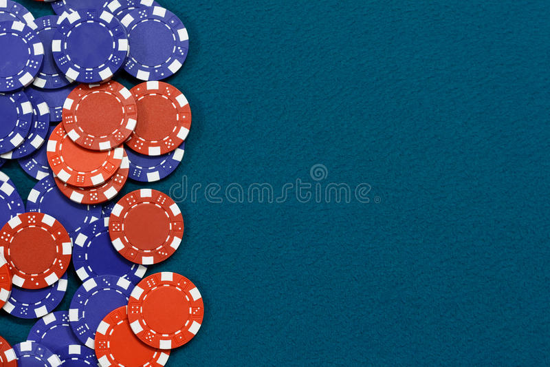 Fundo de jogo das microplaquetas fotografia de stock royalty free