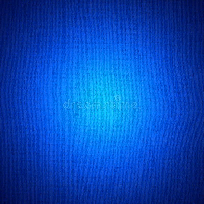 Fundo de linho abstrato azul imagem de stock royalty free