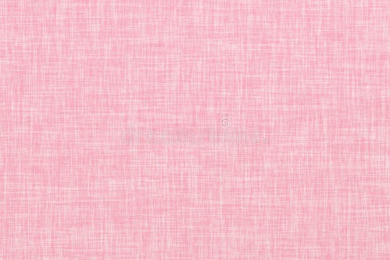Fundo de linho sem emenda colorido rosa da textura ilustração royalty free