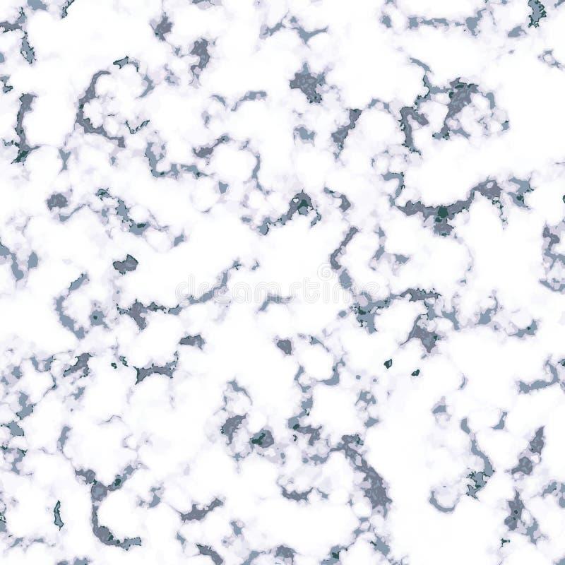 Fundo de mármore azul do vetor da textura E Negócio realístico ilustração stock