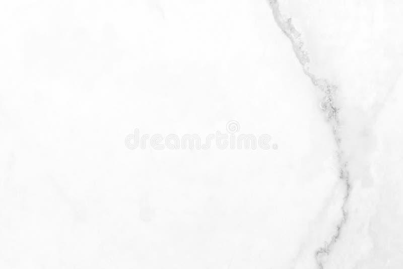 Fundo de mármore branco da textura da parede Apropriado para moldes da apresentação e da Web foto de stock royalty free