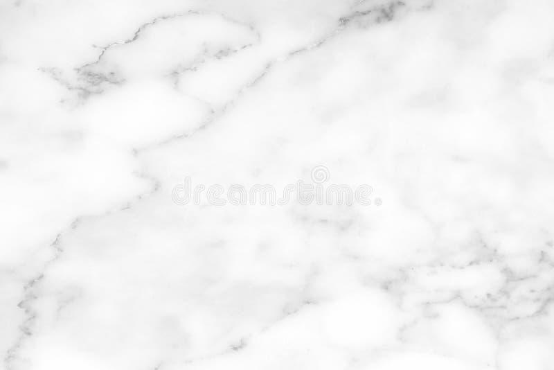 Fundo de mármore branco da textura da parede Apropriado para moldes da apresentação e da Web imagem de stock royalty free