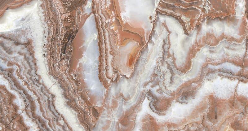 Fundo de mármore do marrom da textura imagem de stock