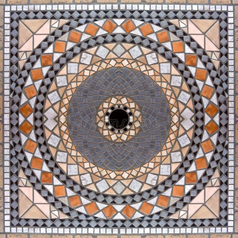 Fundo de mármore 02 do mosaico fotos de stock