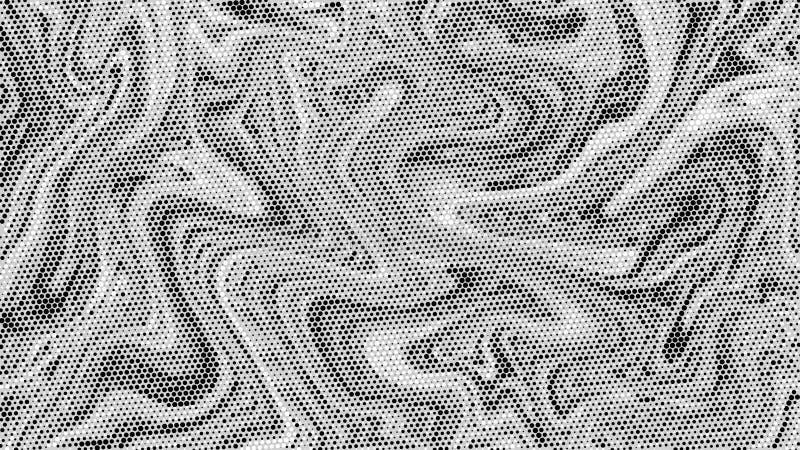 Fundo de mármore de intervalo mínimo da textura Contexto preto e branco abstrato da arte do ponto Teste padrão moderno do graysca ilustração royalty free