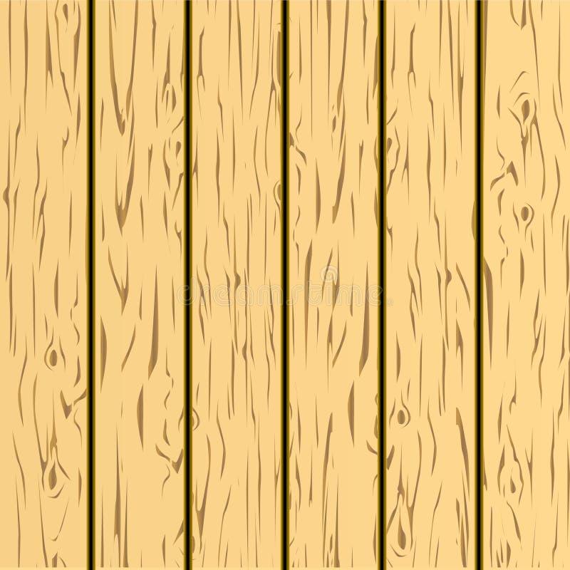 Fundo de madeira ilustração royalty free