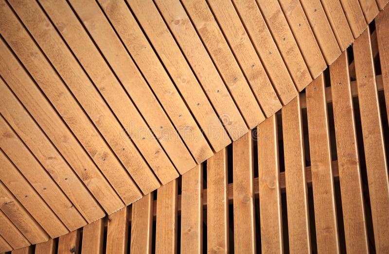Fundo de madeira abstrato da arquitetura fotos de stock royalty free