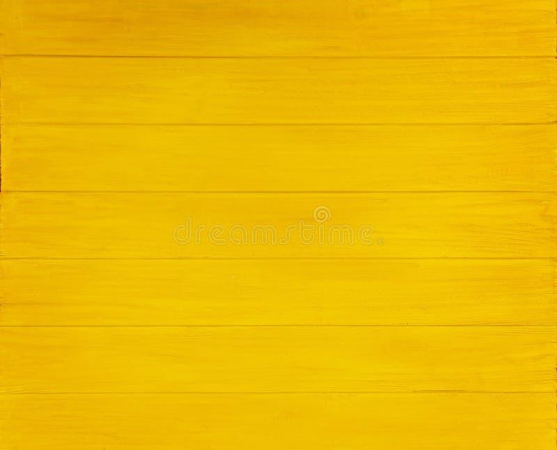 Fundo de madeira amarelo imagens de stock