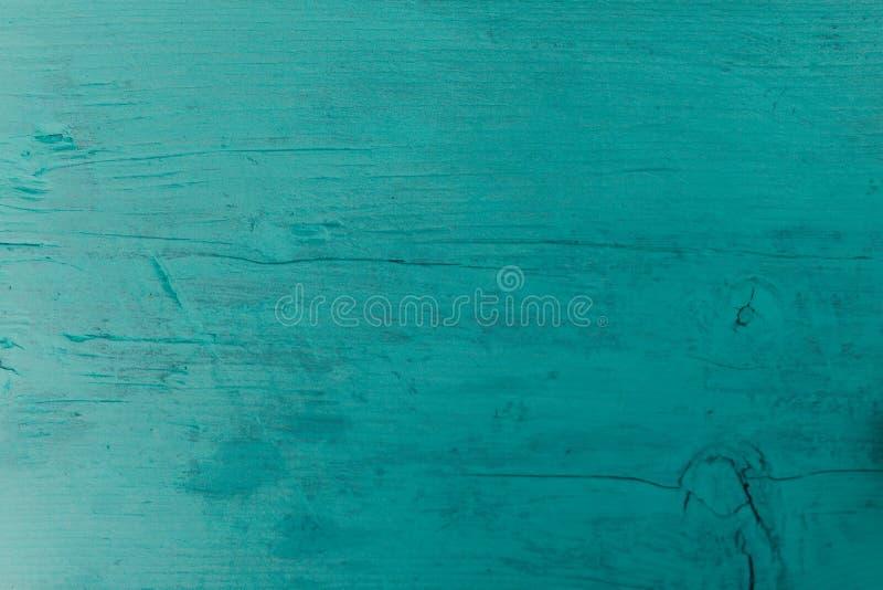 Fundo de madeira azul fotografia de stock