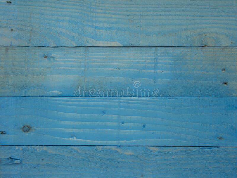 Fundo de madeira azul do painel da lavagem de cor imagem de stock royalty free