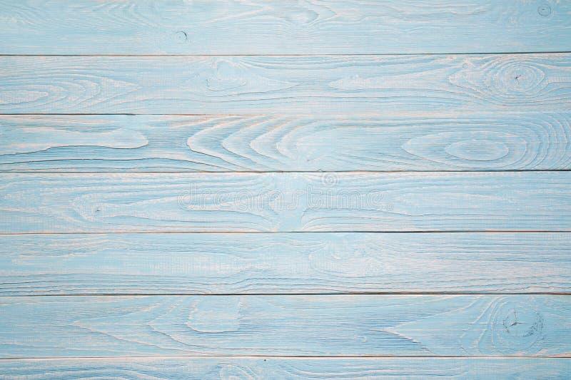 Fundo de madeira azul Estilo rústico fotos de stock