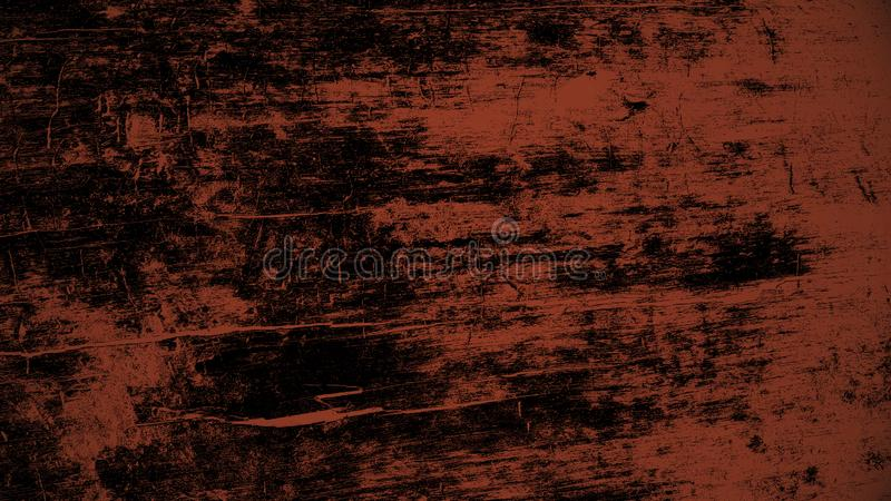 Fundo de madeira de Barkless sob a luz vermelha fotos de stock