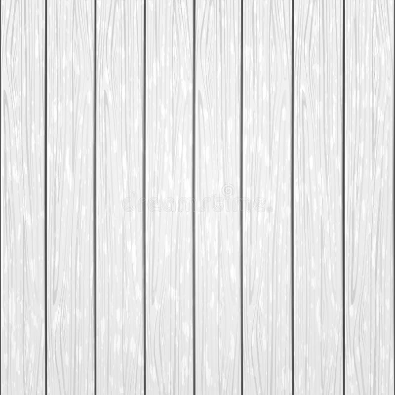 Fundo de madeira branco ilustração royalty free