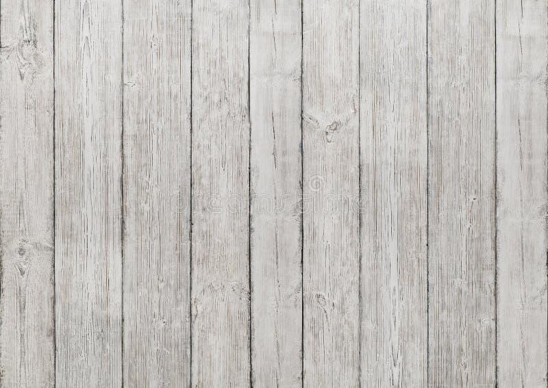 Fundo de madeira branco das pranchas, textura de madeira, parede do assoalho foto de stock royalty free