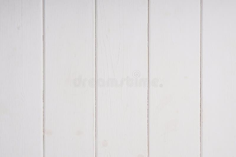 Fundo de madeira branco do paneling da parede imagens de stock