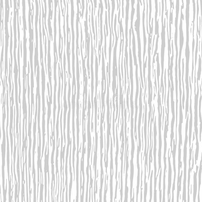 Fundo de madeira claro da textura Verti caótico ondulado branco e cinzento ilustração stock