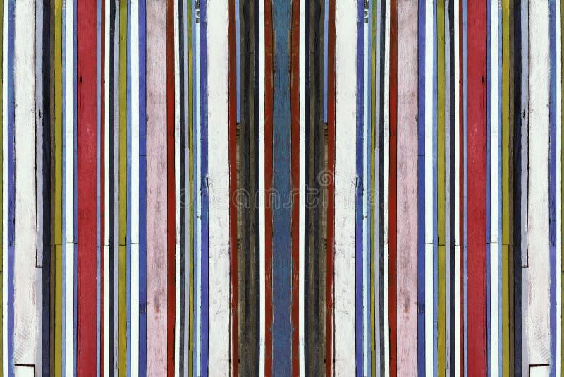 Fundo de madeira colorido imagens de stock