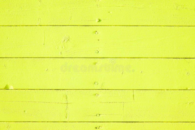 Fundo de madeira colorido amarelo velho foto de stock royalty free