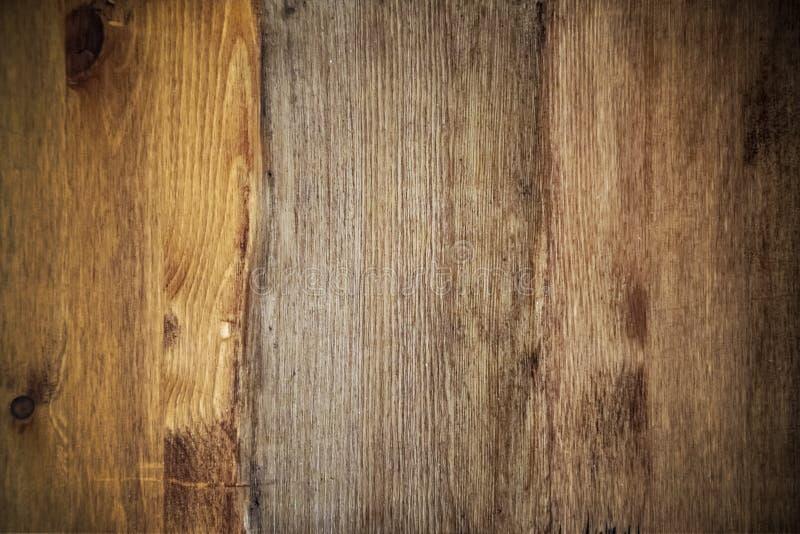 Fundo de madeira com vignetting, teca da textura, pinho, carvalho fotos de stock royalty free