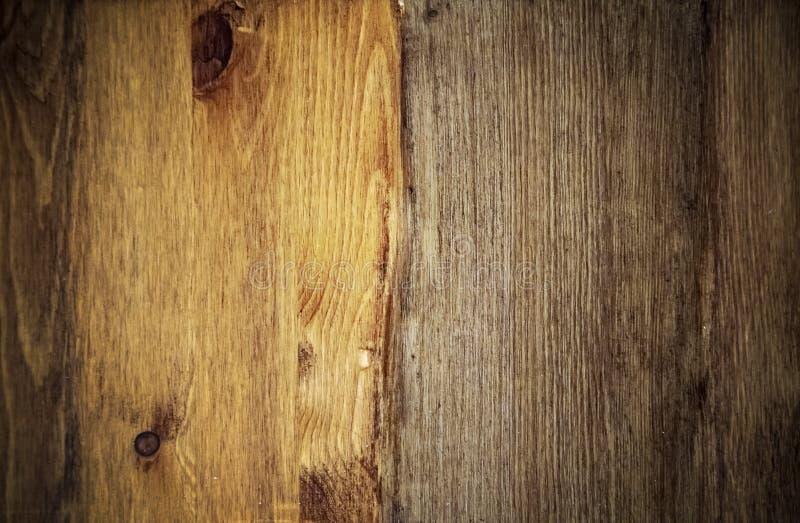 Fundo de madeira com vignetting, teca da textura, pinho, carvalho fotos de stock