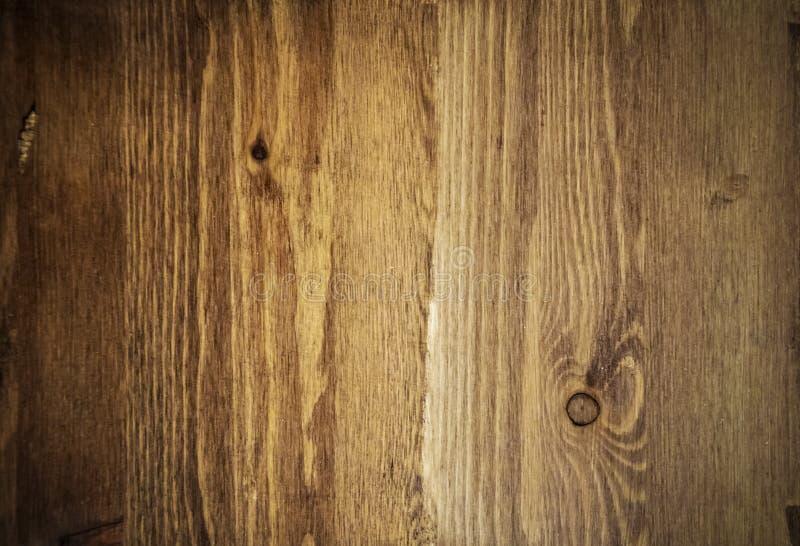 Fundo de madeira com vignetting, teca da textura, pinho, carvalho foto de stock royalty free