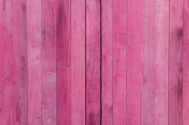Fundo de madeira cor-de-rosa da textura imagem de stock