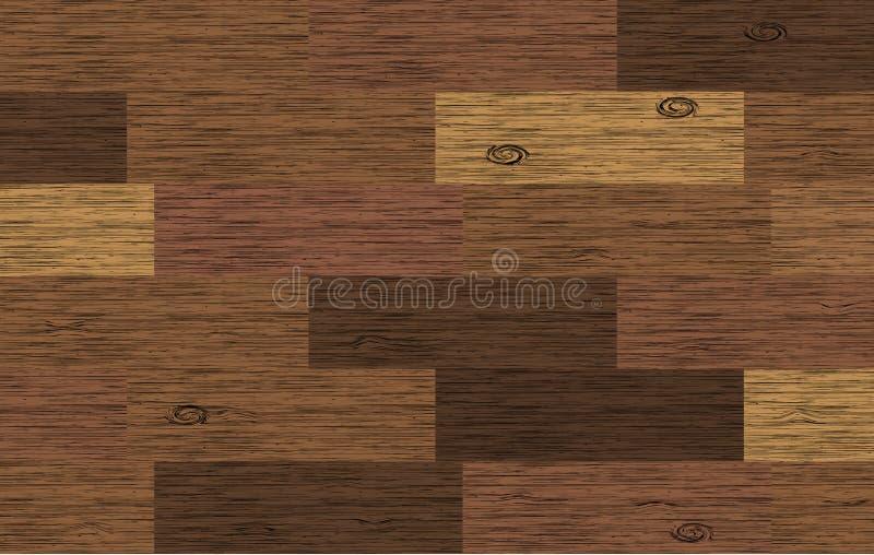 Fundo de madeira da placa ilustração do vetor